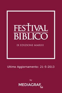 Festival Biblico poster