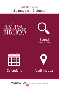 Festival Biblico apk screenshot