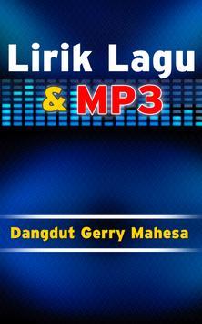 Lirik dan Lagu dangdut Gerry Mahesa apk screenshot