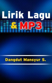 Lirik dan Lagu Dangdut Mansyur S. screenshot 2