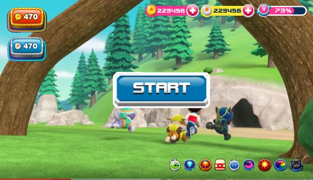 Paw Super Patrol Runner Rescue screenshot 1