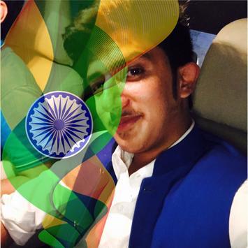 India Flag Face Photo Maker & 15th August DP screenshot 1