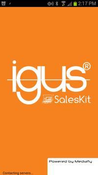 igus SalesKit from Mediafly poster