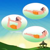Lying Down Asanas In Hindi icon
