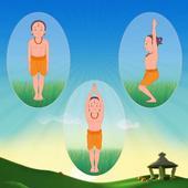 Standing Asanas In Hindi icon