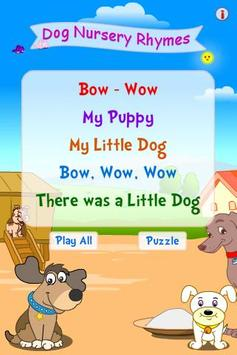 Dog Nursery Rhymes poster