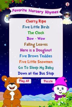 Favorite Nursery Rhymes poster
