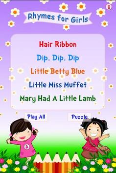 Rhymes for Girls poster