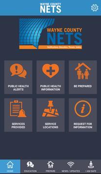 Wayne County NETS poster