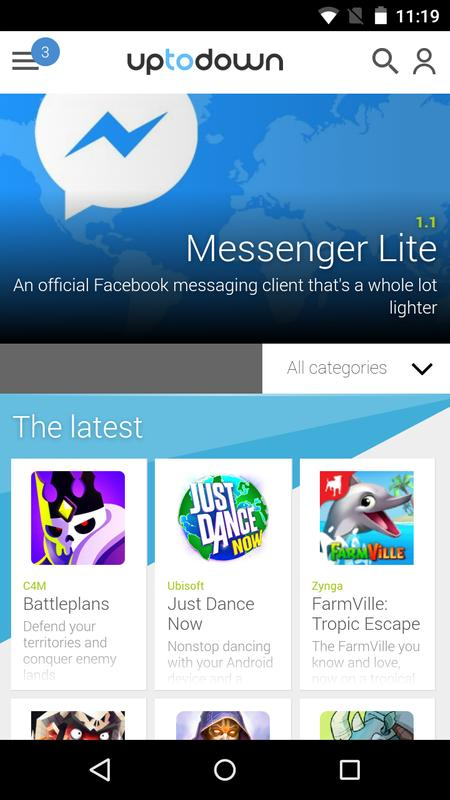 facebook lite download uptodown