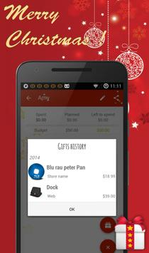 Christmas Gift List apk screenshot