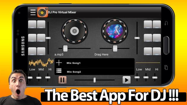 DJ Pro Virtual Mixer screenshot 1