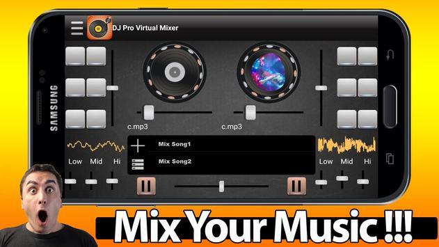 DJ Pro Virtual Mixer screenshot 2