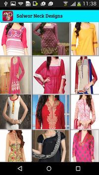 salwar suit designs:Neck Design HD poster