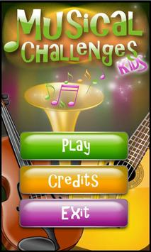 Kids Musical Challenges HD poster