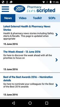Boots Pharmacy Unscripted apk screenshot