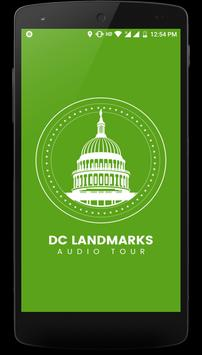 DC Landmarks Self-Guided Audio Tour poster