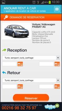 Anouar, Car Rental apk screenshot