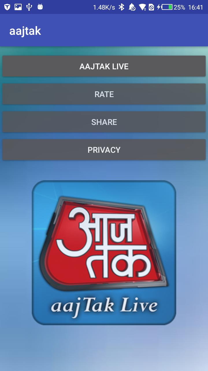 AajTak Live - India Hindi TV News Live for Android - APK