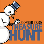 Pioneer Press Treasure Hunt icon