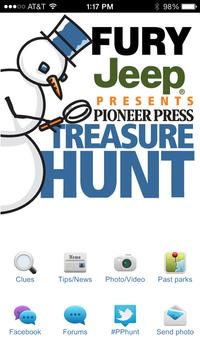 Pioneer Press Treasure Hunt poster