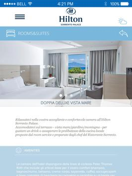 Hilton Sorrento Palace apk screenshot