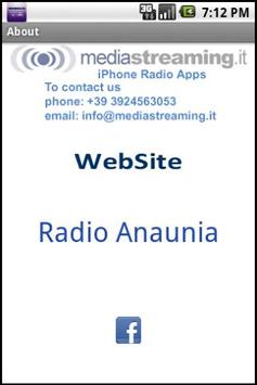 Radio Anaunia screenshot 1