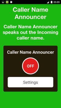 Caller Name Announcer Free poster
