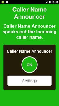 Caller Name Announcer Free screenshot 1