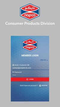 Napco Consumer Products apk screenshot