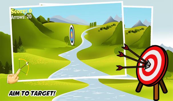 Archery master - Hit Bullseye poster