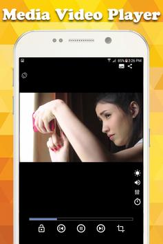 Media Video Player All HD format poster