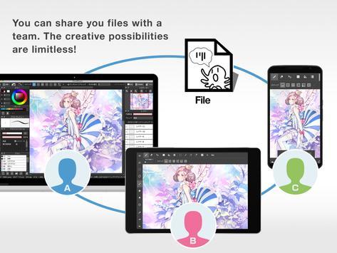 MediBang Paint - menggambar apk screenshot