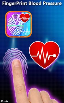 Finger Blood Pressure Prank apk screenshot