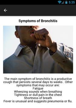 Bronchitis Symptoms screenshot 2