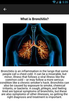 Bronchitis Symptoms screenshot 1