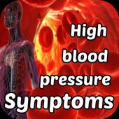 High Blood Pressure Symptoms icon