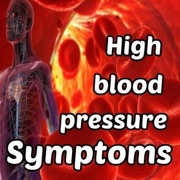 High Blood Pressure Symptoms poster