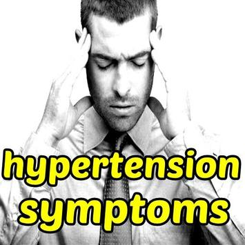 Hypertension Symptoms poster