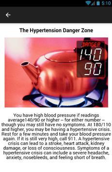 Hypertension Symptoms screenshot 3