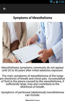 Mesothelioma Cancer apk screenshot