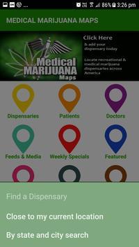 Medical Marijuana Maps screenshot 1