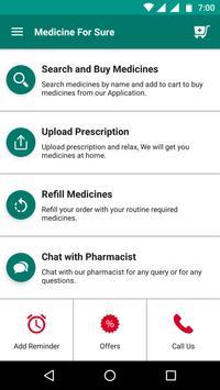 Medicine For Sure screenshot 1