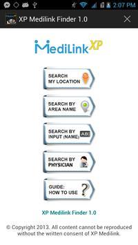 MediLink XP Finder poster