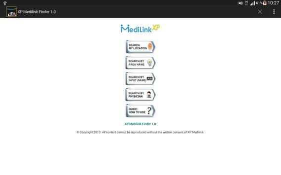 MediLink XP Finder screenshot 3