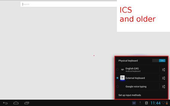 External Keyboard apk screenshot