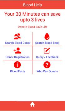 Blood Help poster