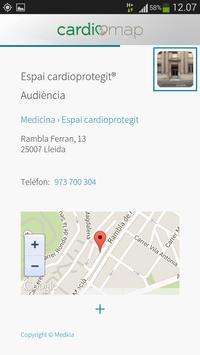 CardioMap apk screenshot