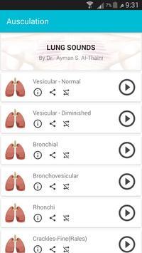 Auscultation ( Heart & Lung Sounds) screenshot 3