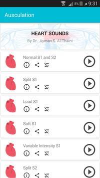Auscultation ( Heart & Lung Sounds) screenshot 4